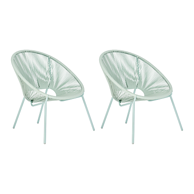 House by John Lewis Salsa Garden Chair, Set of 2