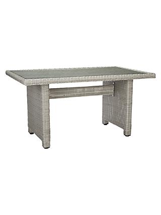 John Lewis & Partners Dante Low Outdoor Dining Table