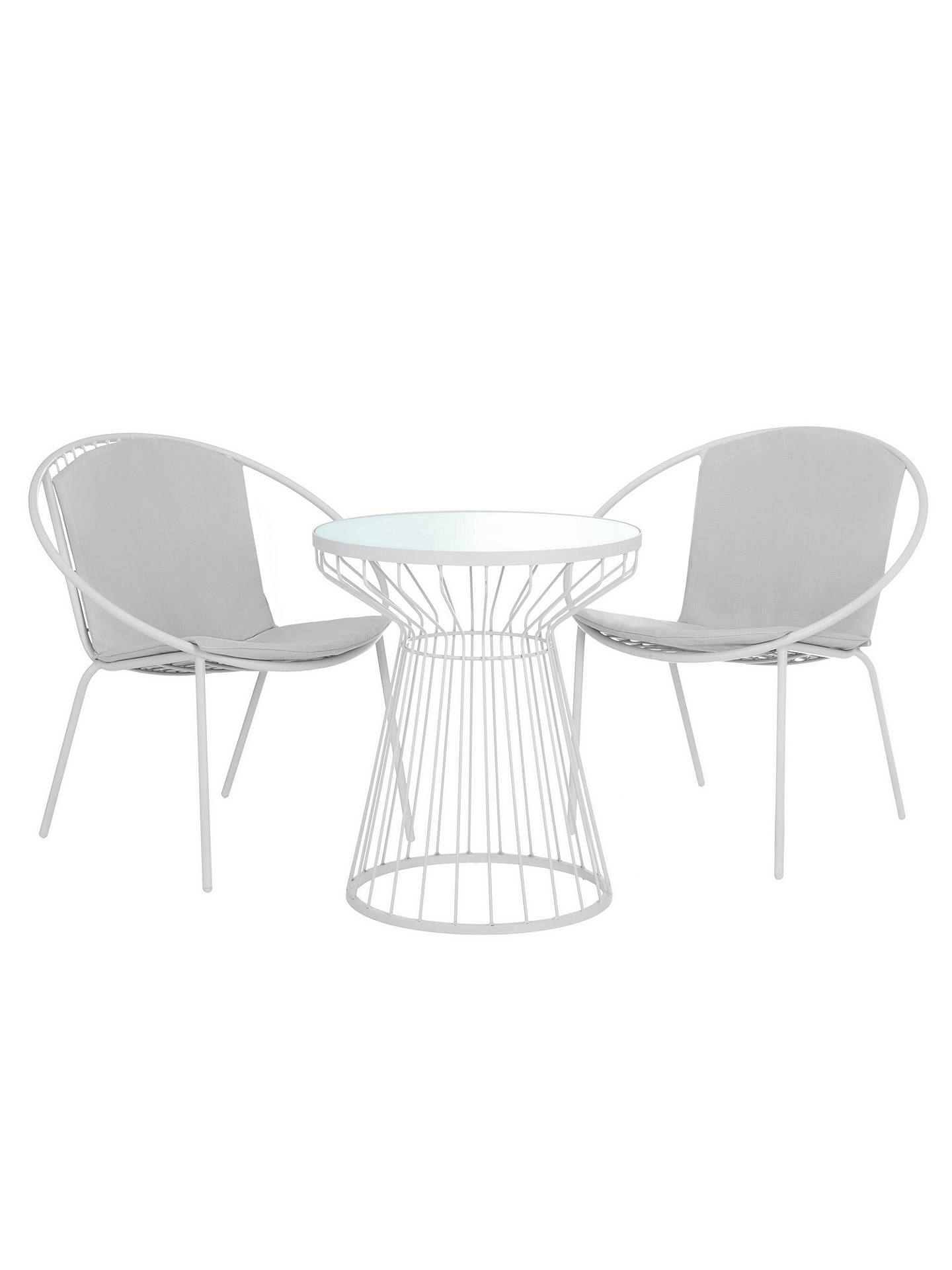 BuyHouse by John Lewis Porto Bistro Garden Table and Chairs Set French Grey Online at ...  sc 1 st  John Lewis & House by John Lewis Porto Bistro Garden Table and Chairs Set at John ...