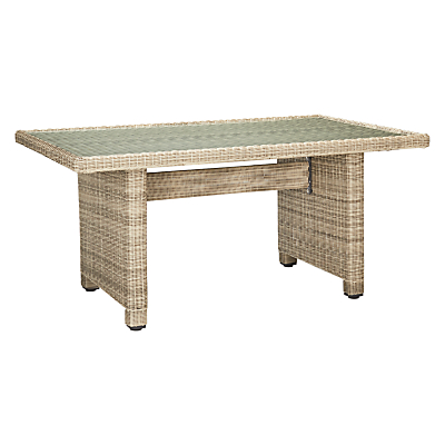John Lewis & Partners Dante Low Garden Dining Table