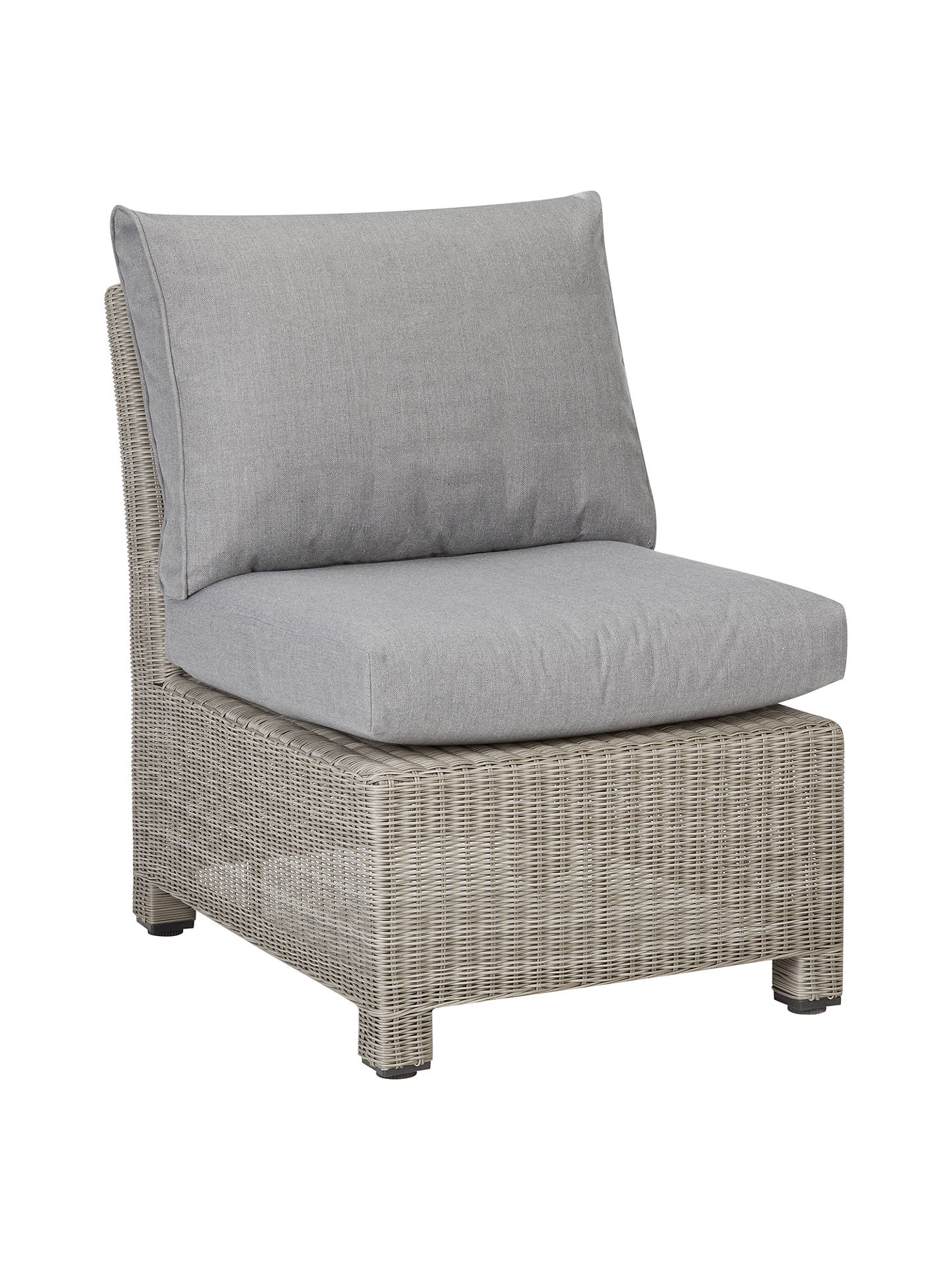 BuyJohn Lewis & Partners Dante Outdoor Modular Middle Chair Unit, Grey Online at johnlewis.com