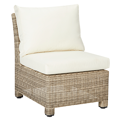 John Lewis Dante Outdoor Modular Middle Chair Unit