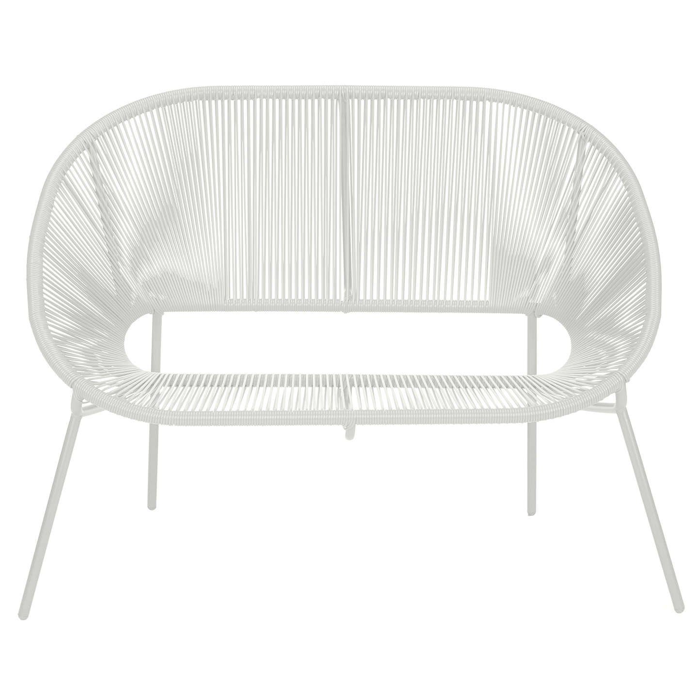 BuyHouse by John Lewis Salsa 2-Seater Garden Sofa, French Grey Online at johnlewis.com