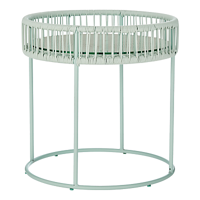 House by John Lewis Salsa Outdoor Side Table, Dia.50cm