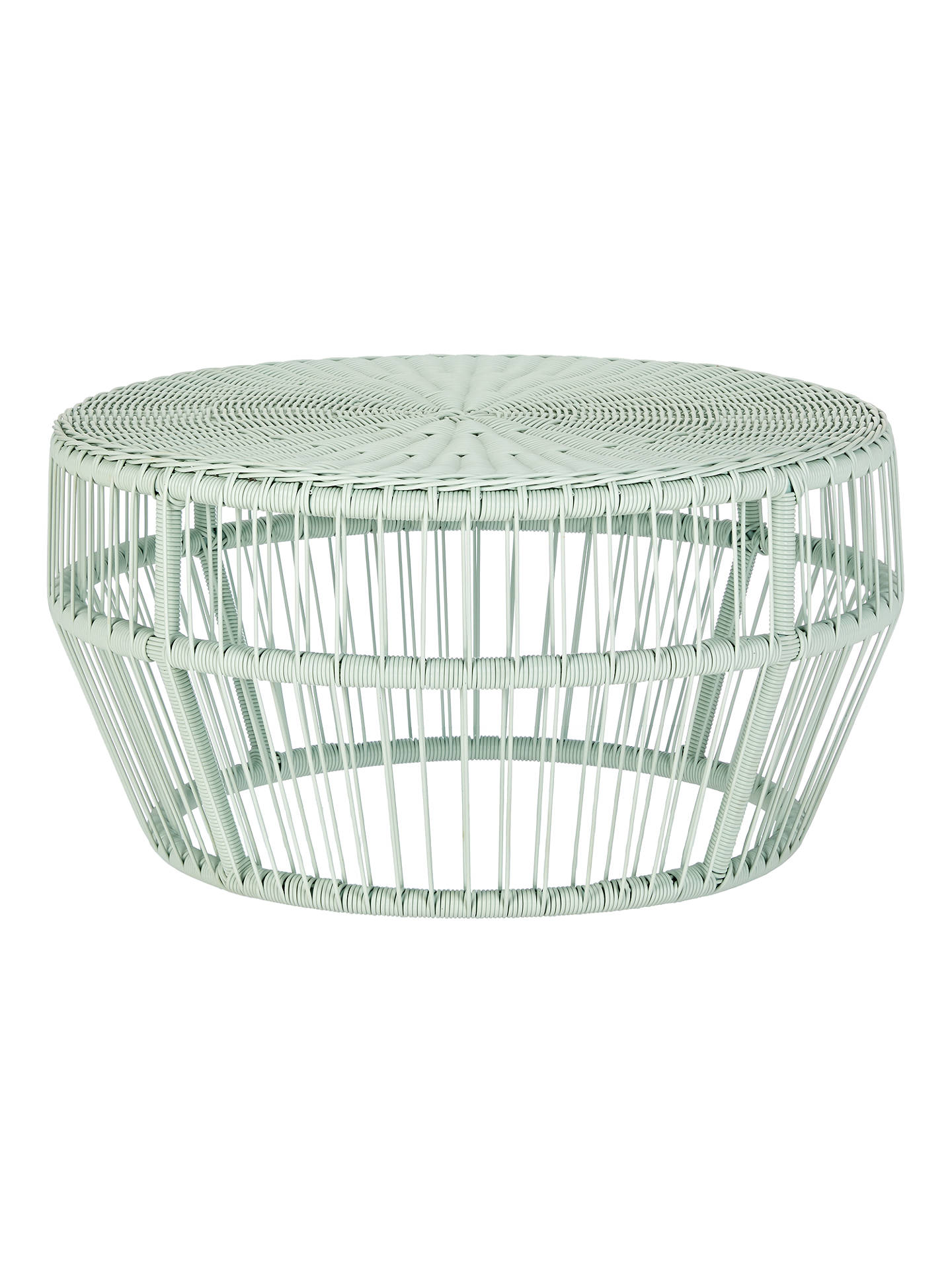 BuyHouse by John Lewis Salsa Garden Coffee Table, Dia.80cm, Mint Online at johnlewis.com