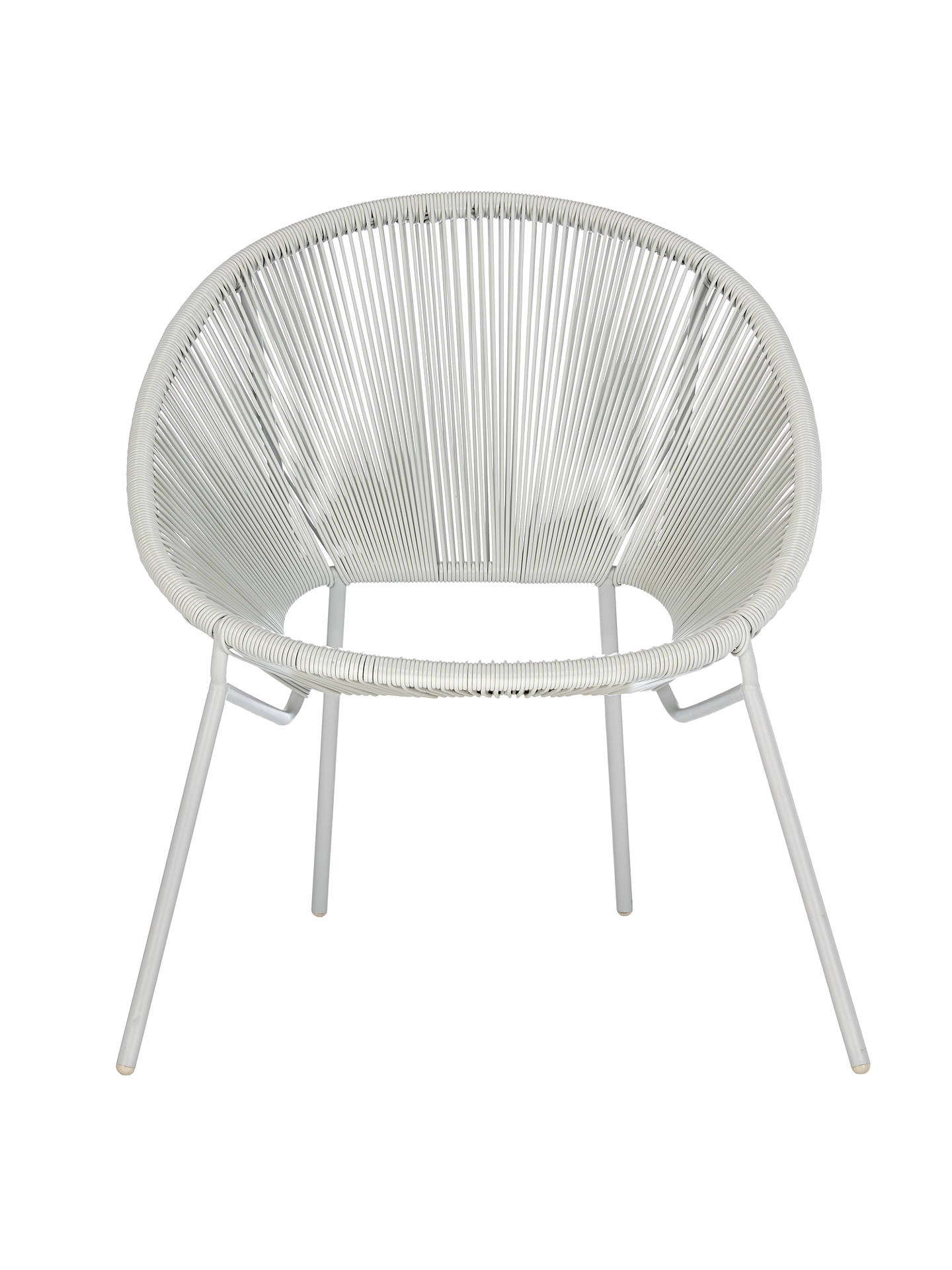 House by John Lewis Salsa Garden Chair, Set of 8 at John Lewis