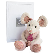 Buy Doudou et Compagnie Glitter Mouse Soft Toy, 25cm Online at johnlewis.com