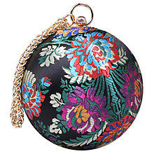Buy Carvela Guide Circular Clutch Bag, Multi Online at johnlewis.com