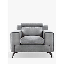 Buy Duresta Victor Armchair, Gunmetal Leg, Pietra Online at johnlewis.com