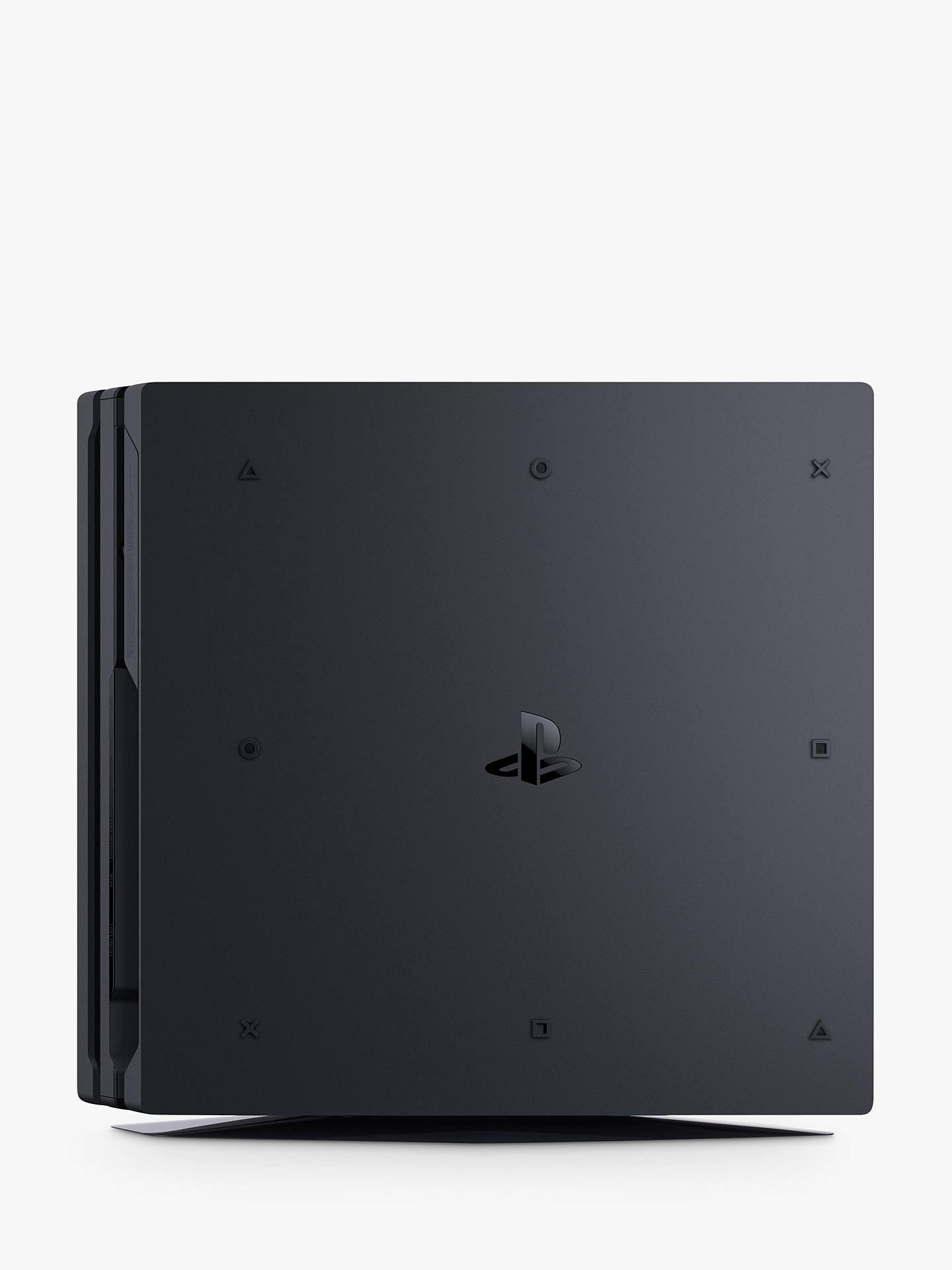 Buy Sony PlayStation 4 Pro Console, 1TB, with DualShock 4 Controller, Jet Black Online at johnlewis.com