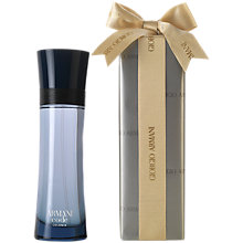 Buy Giorgio Armani Armani Code Colonia Eau de Toilette Gift Wrap, 125ml Online at johnlewis.com