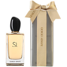 Buy Giorgio Armani Si Eau de Parfum Gift Wrap, 100ml Online at johnlewis.com