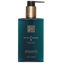 Buy Rituals The Ritual of Hammam Hand Wash, 300ml Online at johnlewis.com