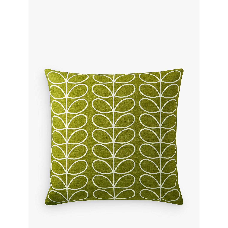 Orla Kiely Linear Stem Cushion Apple At Johnlewis Com