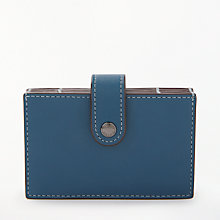 Buy Coach Accordion Leather Card Case Online at johnlewis.com