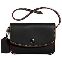 Buy Coach Leather Card Pouch Online at johnlewis.com