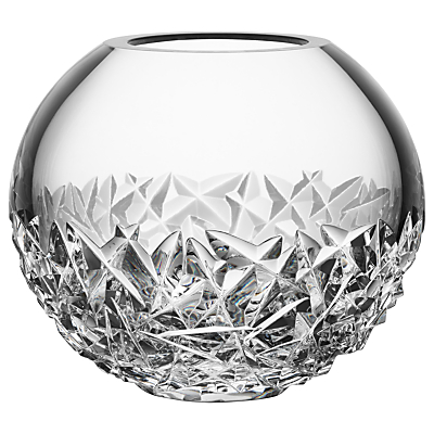 Orrefors Carat Globe Vase, Small, Clear, 10.8cm