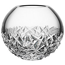 Buy Orrefors Carat Globe Vase, Small, Clear, 10.8cm Online at johnlewis.com