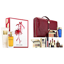 Buy Estée Lauder Cinnabar Exotic Duo Gift Set and The Blockbuster Collection Online at johnlewis.com