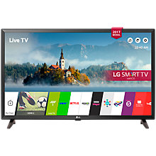 "Buy LG 32LJ610V LED Full HD 1080p Smart TV, 32"" with Freesat HD & Freeview Play, Black Metallic Online at johnlewis.com"