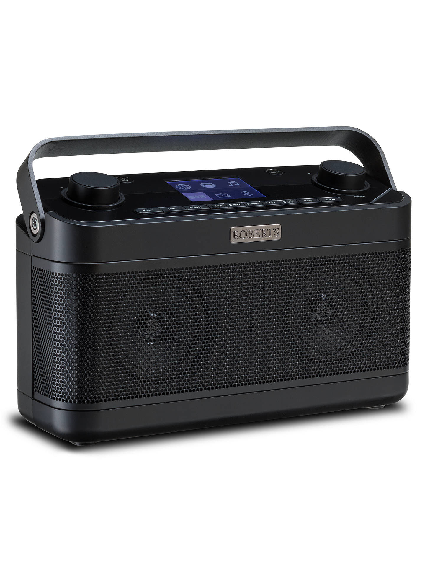 BuyROBERTS Stream 218 DAB+/FM/Internet Smart Radio with Bluetooth & Spotify Connect, Black Online at johnlewis.com