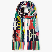 Buy Paul Smith Cactus Print Scarf, Multi Online at johnlewis.com