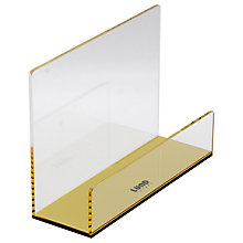 Buy Lund London Flash Letter Holder, Gold Online at johnlewis.com