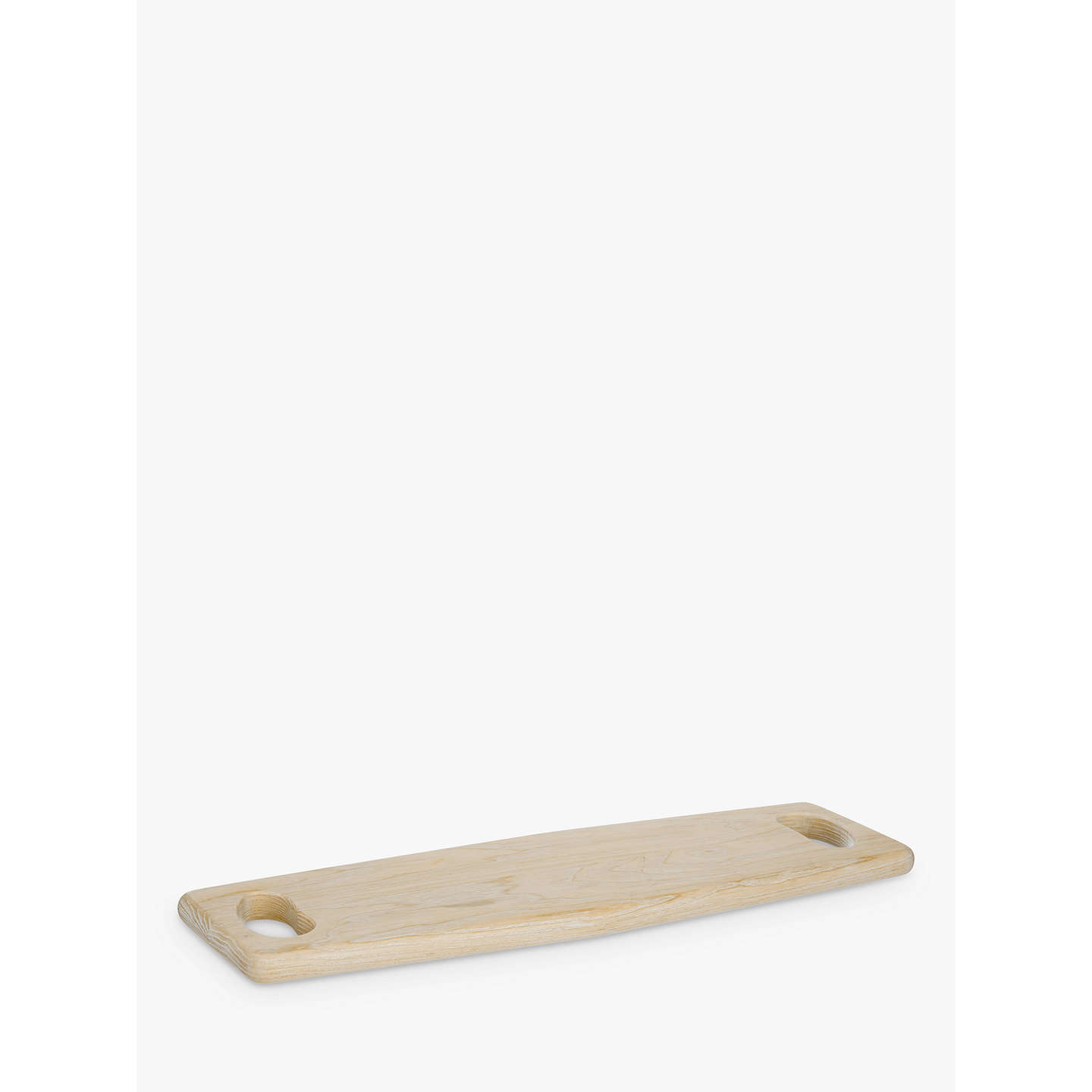 BuyJohn Lewis Coastal Dual Handle Ash Wood Serving Board, Natural Online at johnlewis.com