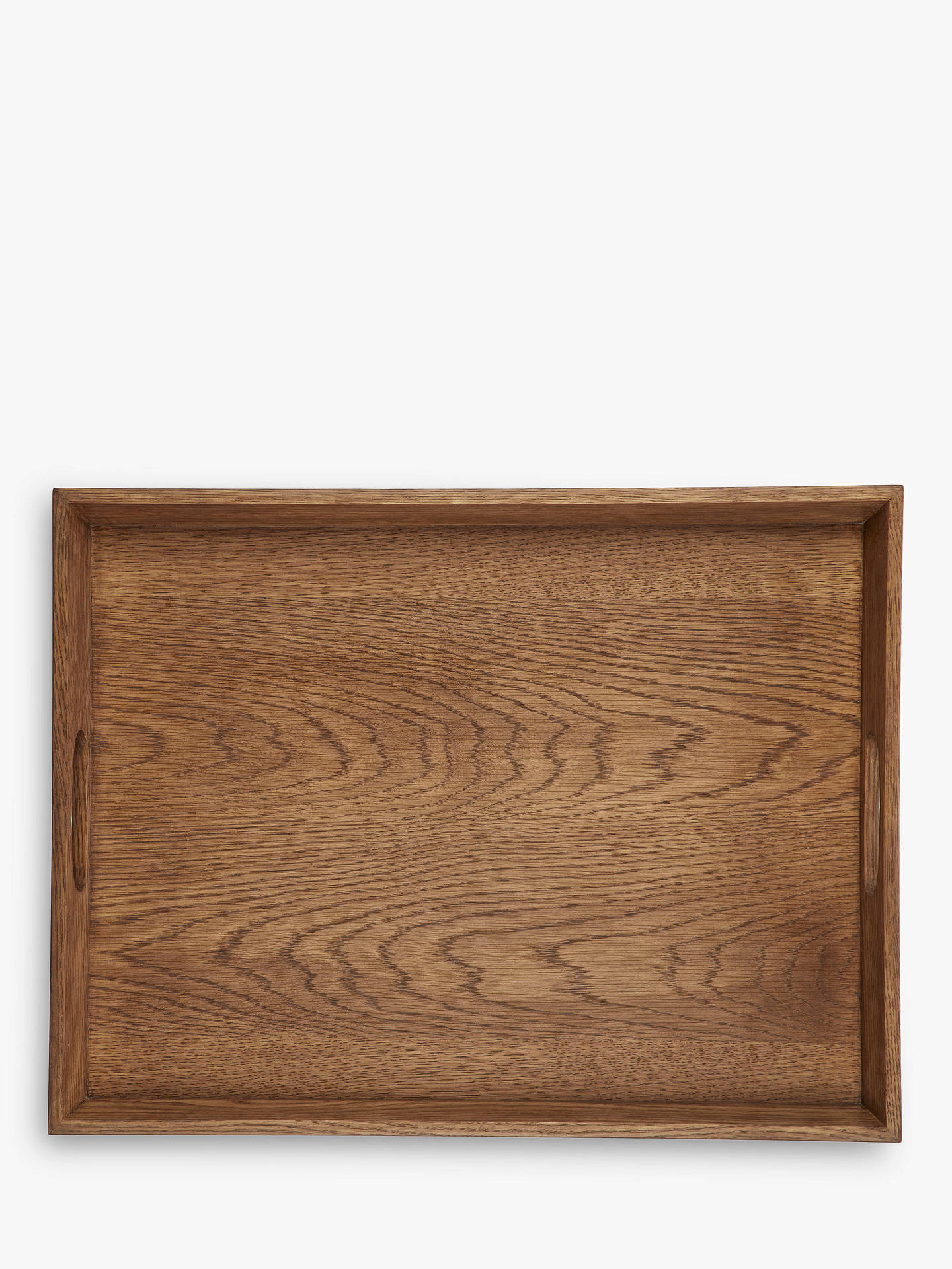 Buycroft collection oak wood stacking tray natural large online at johnlewis com