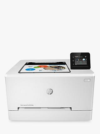HP LaserJet Pro M254DW Wireless Colour Printer with Wi-Fi & Instant-On Technology, White