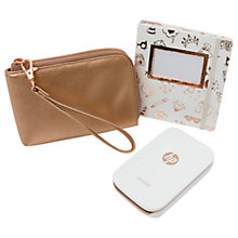 Buy HP Sprocket Portable Photo Printer, White, Limited Edition Gift Box Online at johnlewis.com