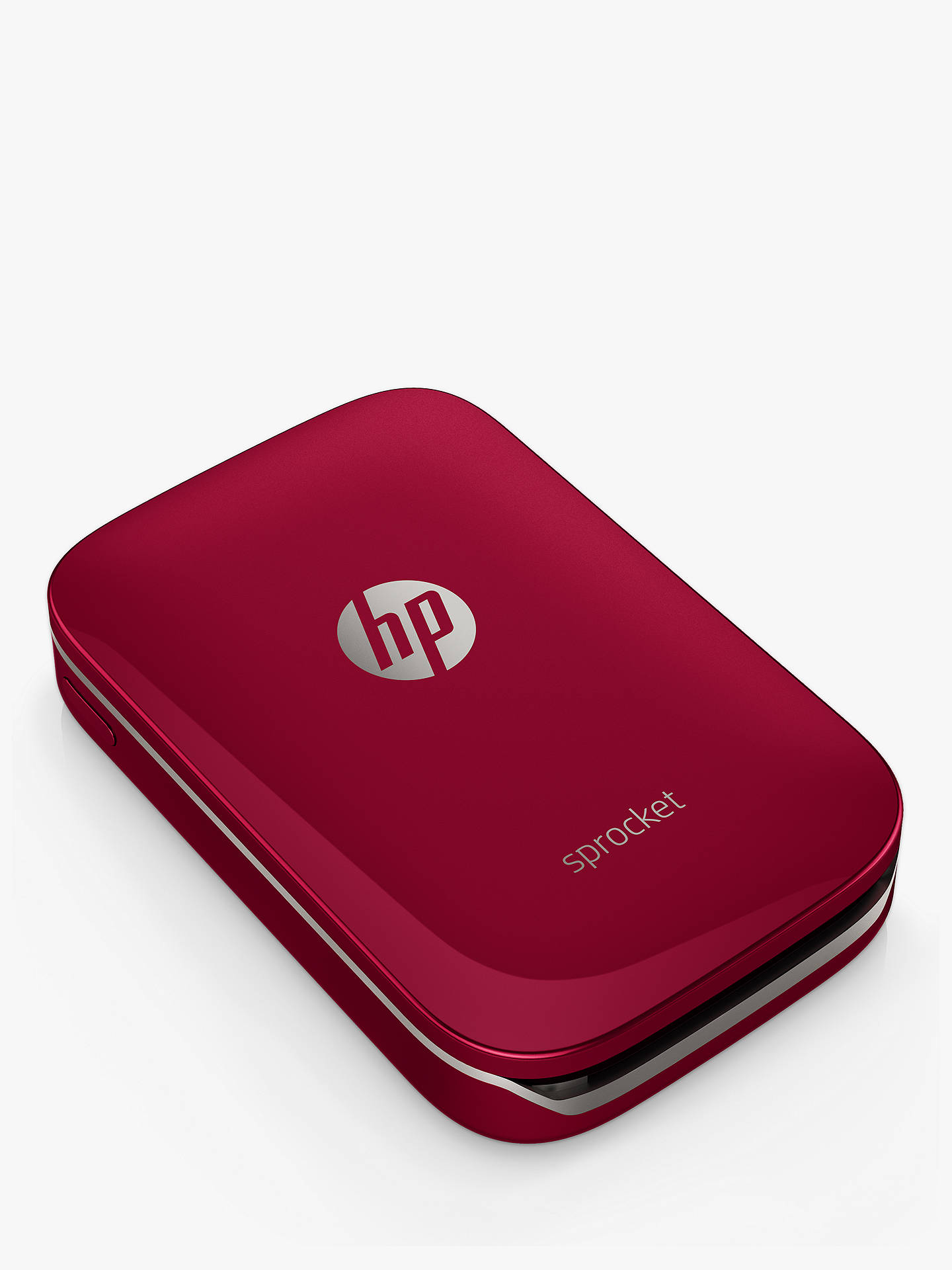 Buy HP Sprocket Portable Photo Printer, Red Online at johnlewis.com