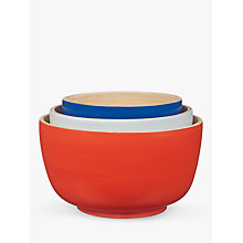 Buy House by John Lewis Nesting Bamboo Bowls, Assorted, Set of 3 Online at johnlewis.com