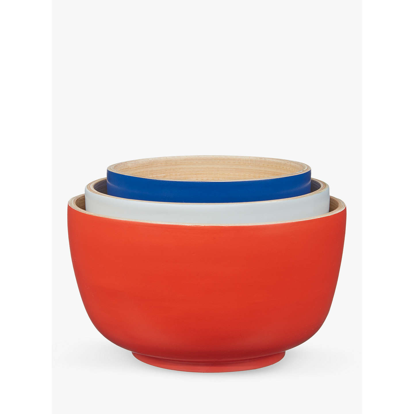 House by john lewis nesting bamboo bowls assorted set of 3 at buyhouse by john lewis nesting bamboo bowls assorted set of 3 online at johnlewis reviewsmspy