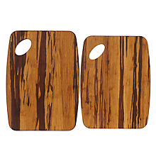 Buy John Lewis Crushed Bamboo Wood Chopping Boards, Set of 2 Online at johnlewis.com