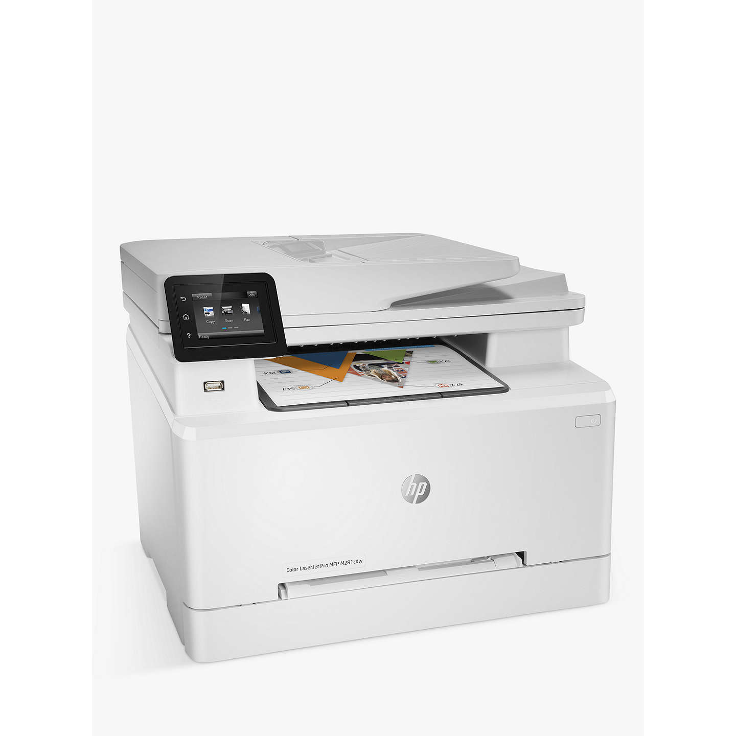 BuyHP LaserJet Pro M281FDW Wireless Colour Printer with Wi-Fi & Instant-On Technology Online at johnlewis.com