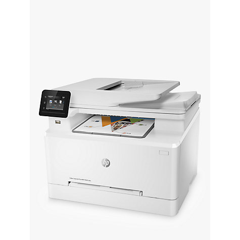Buy HP LaserJet Pro M281FDW Wireless Colour Printer with Wi-Fi & Instant-On Technology Online at johnlewis.com