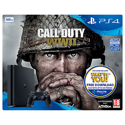 Image of SONY PlayStation 4 Slim & Call of Duty WWII