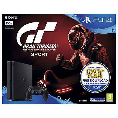 Image of SONY PlayStation 4 Slim & Gran Turismo Sport