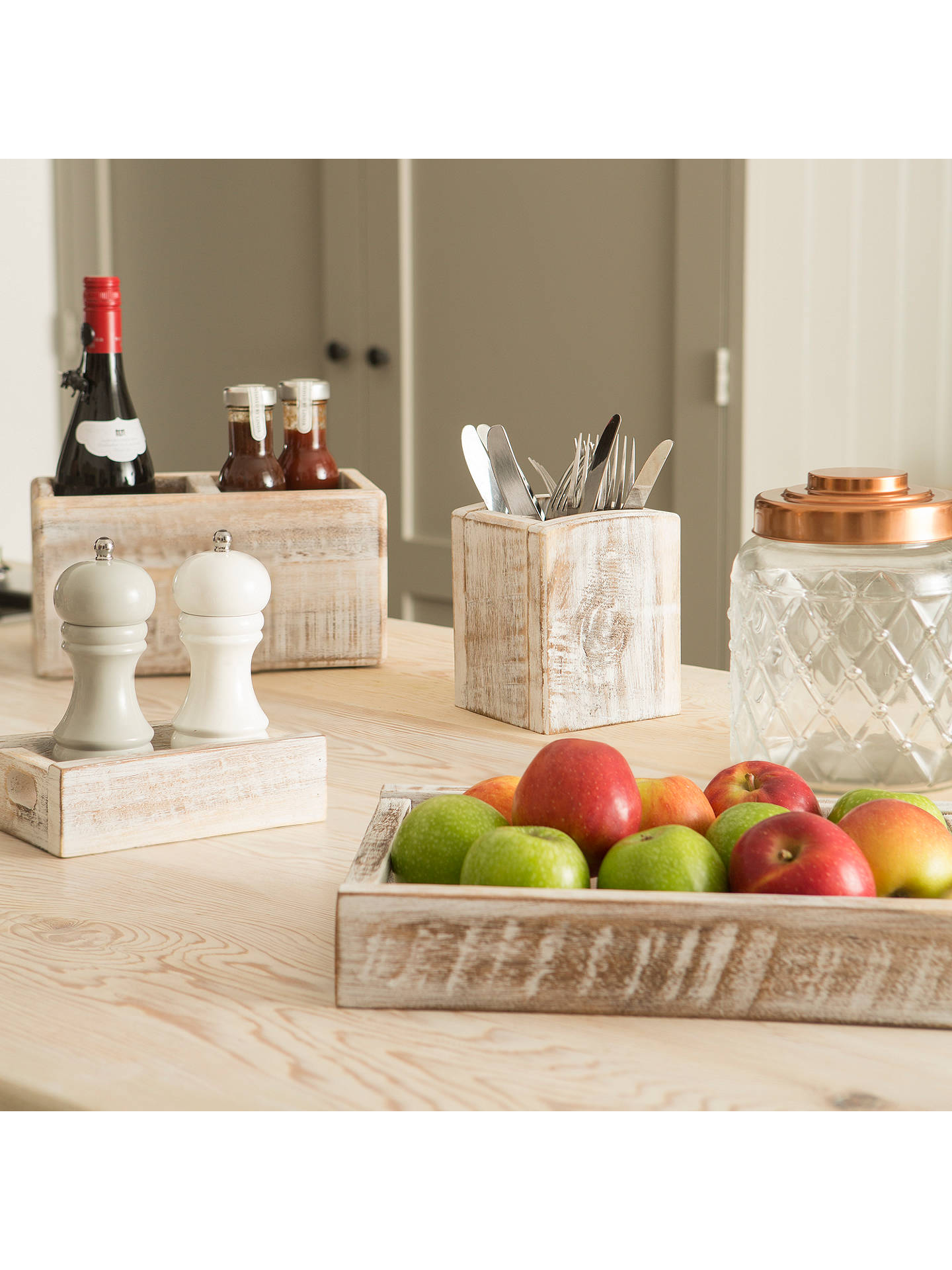 Buy T&G Nordic Salt and Pepper Box, White Online at johnlewis.com