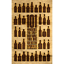 Buy 101 Whiskies To Try Before You Die Online at johnlewis.com