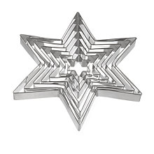 Buy John Lewis Stainless Steel Stacking Star Cutters, Set of 7 Online at johnlewis.com