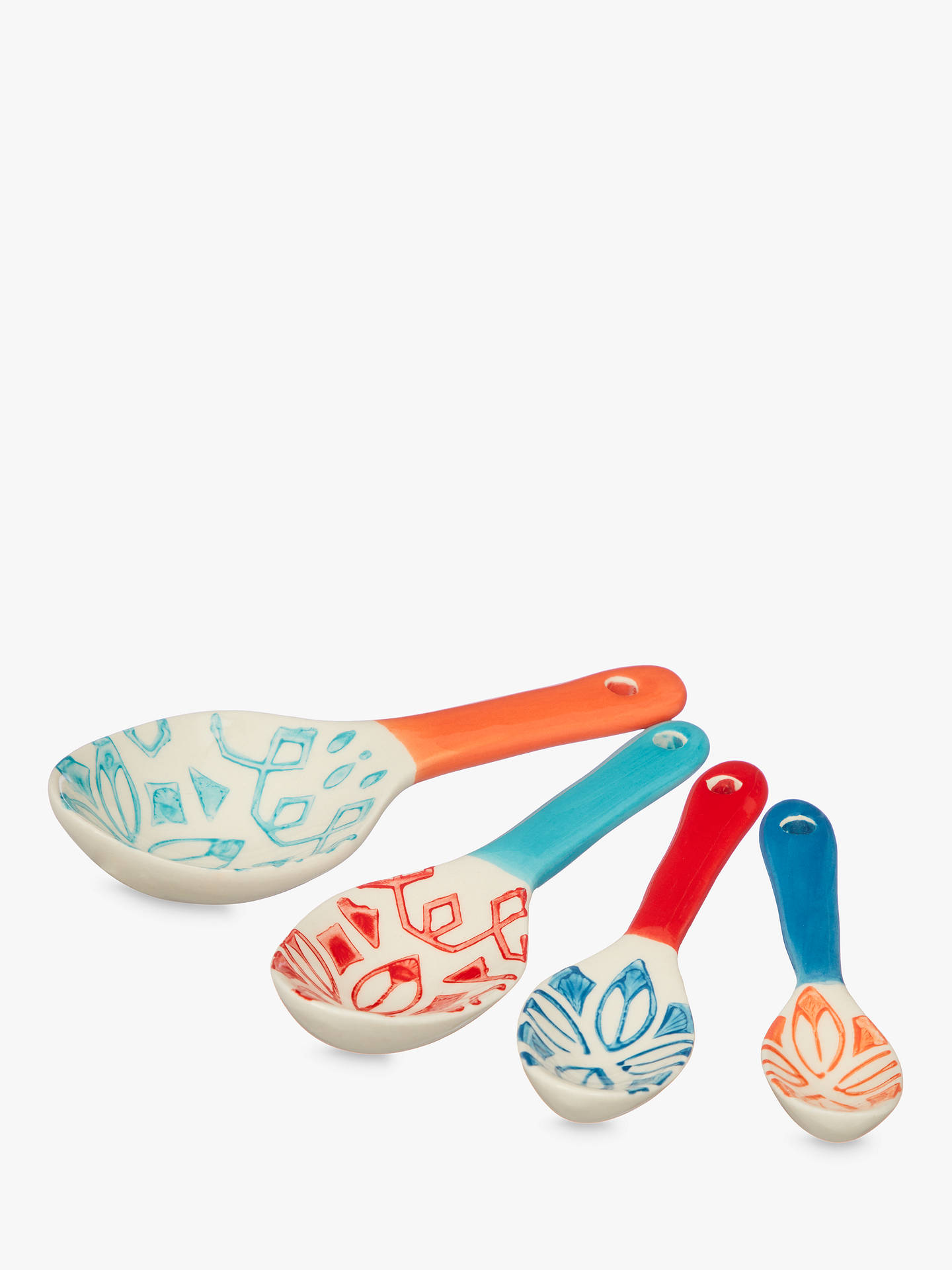 Buy John Lewis & Partners Fusion Nesting Measuring Spoons, Assorted, Set of 4 Online at johnlewis.com