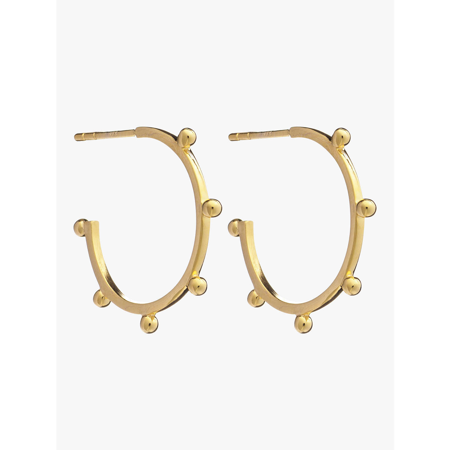 Rachel Jackson London hoop earrings - Metallic hFZEdwXpl