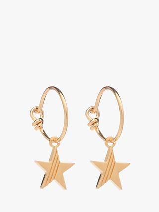 Rachel Jackson London Star Hoop Earrings