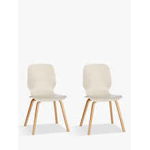 Buy House by John Lewis Anton Dining Chairs, Set of 2 Online at johnlewis.com