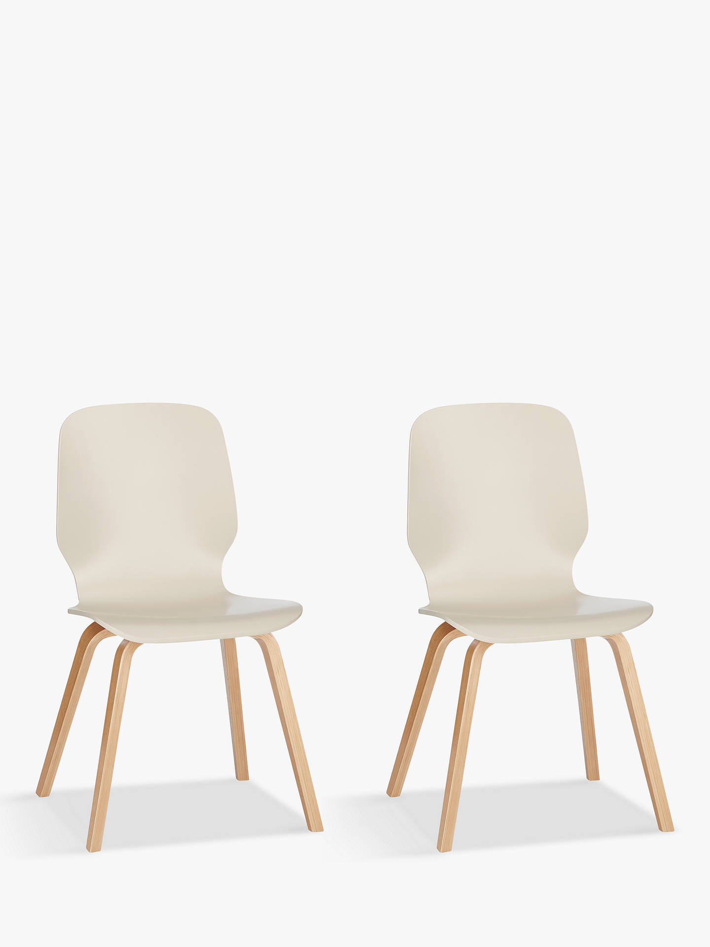 Buy House by John Lewis Anton Dining Chairs, Set of 2, Smoke Online at johnlewis.com