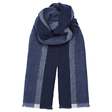 Buy Jigsaw Verti Wool Stripe Scarf Online at johnlewis.com