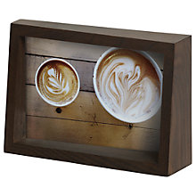 "Buy Umbra Edge Photo Frame, 4 x 6"" (10 x 15cm), Walnut Online at johnlewis.com"