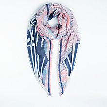 Buy Becksondergaard Wool Cashmere Sable Print Scarf, Multi Online at johnlewis.com